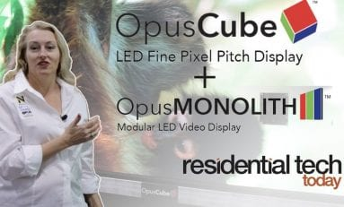 Video Walkthrough: Opus's New Wall-Sized LED Video Displays