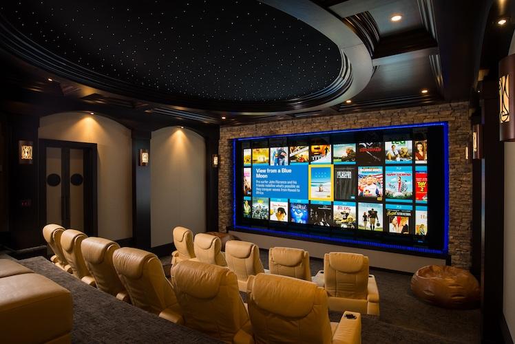 Easy Living Creates 'Lodge-Like' Home Theater in Georgia