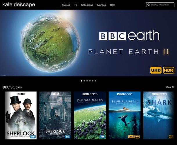 Kaleidescape to Add BBC's Best Documentaries and TV Series