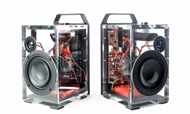 These Dillinger Labs Wireless Speakers are Transparent in Both Style and Operation