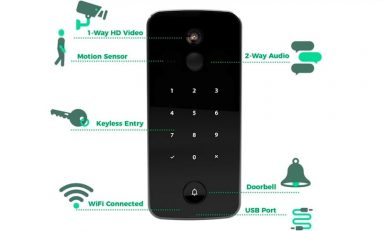 An All-In-One Audio/Video Smart Lock