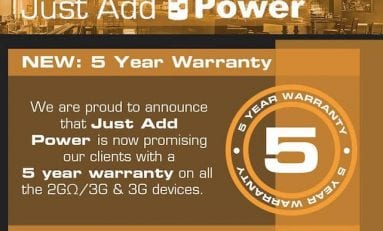 Just Add Power Introduces Five-Year Warranty on HDMI-over-IP Products
