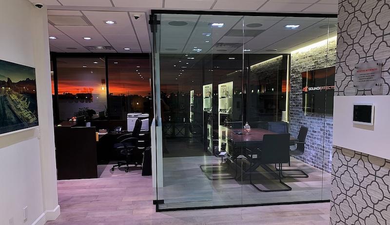 Sound Effects AudioControl showroom