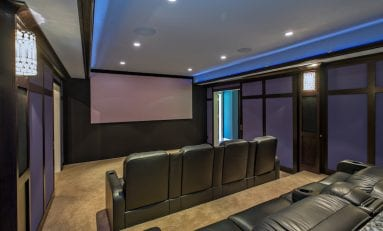 Turning a Home Gym into a Home Theater in Michigan
