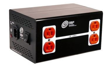 Torus Power PowerBlock PB 5 Offers Stable Power to Small and Mid-Size AV Systems