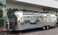 Mode:Green Rolls Into Tech Events Using an Airstream Mobile Showroom