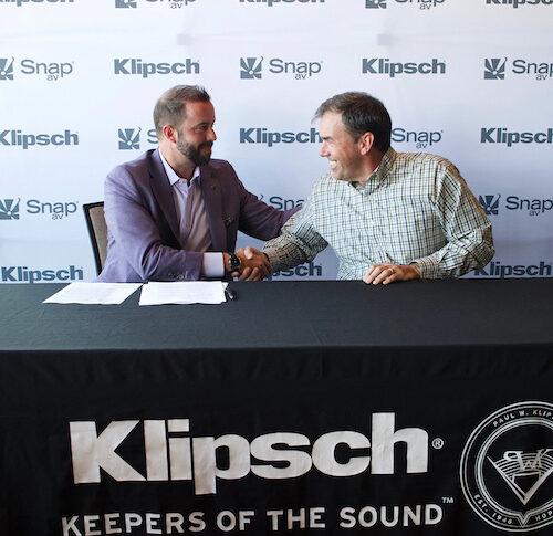 Klipsch Audio Signs National Distribution Partnership with SnapAV