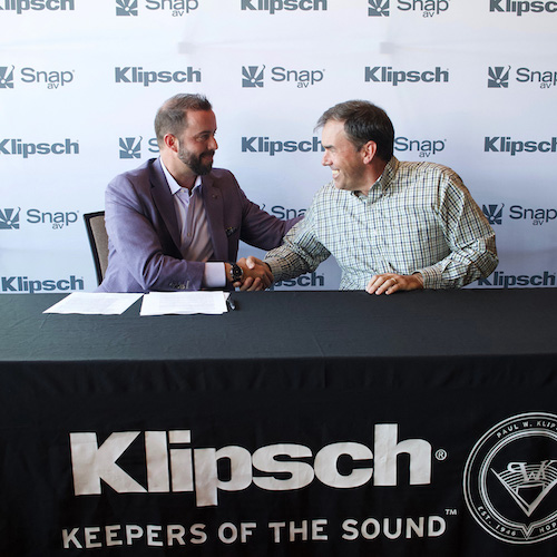 Klipsch Audio Signs National Distribution Partnership with SnapAV