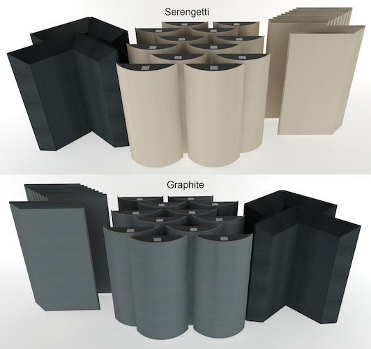 Acoustic Geometry Room Treatments Available at Retail