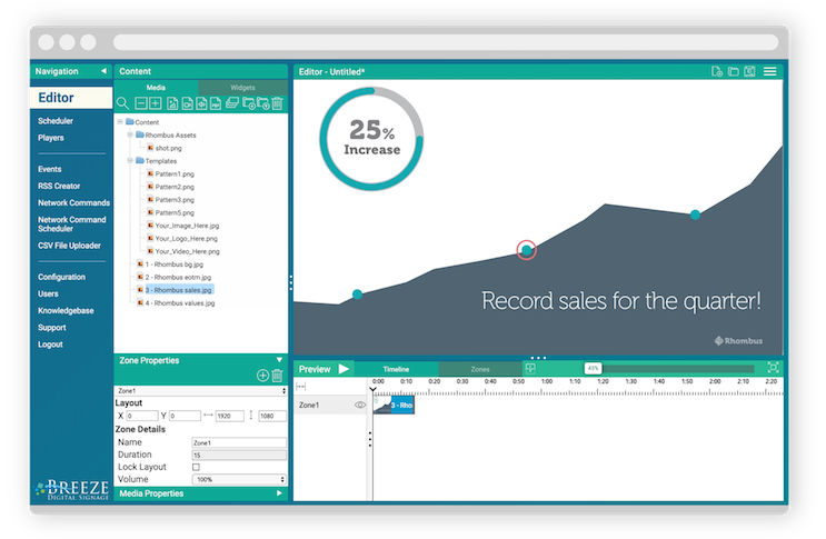 Keywest Technology Upgrades Digital Signage Software