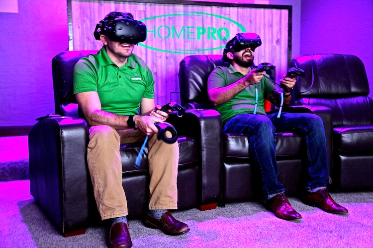 HomePro Uses VR to Boosts Sales of Theaters