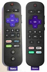 Roku voice remote