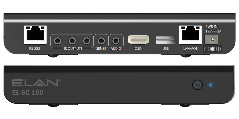 ELAN Debuts Entry-Level Controller, IP Amplifiers at CEDIA 2019