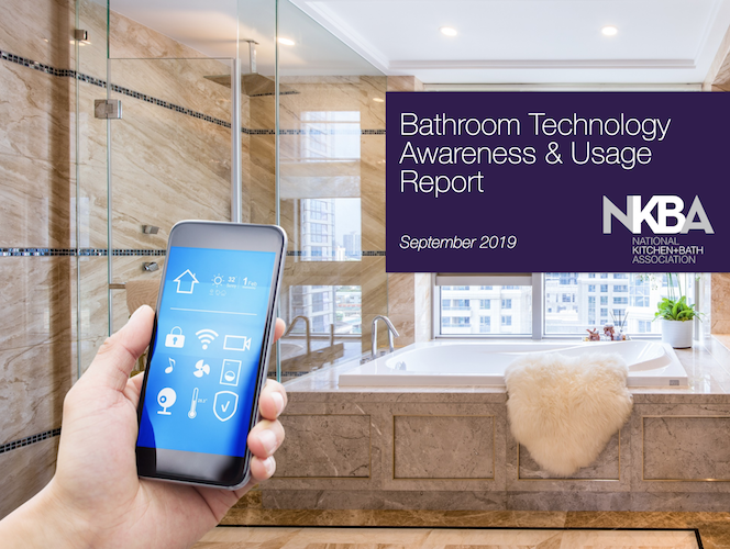 NKBA Report: Homeowners Want Tech in Their Master Bathrooms