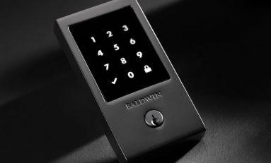 Baldwin Hardware Develops Solid-Brass TouchScreen Smart Lock
