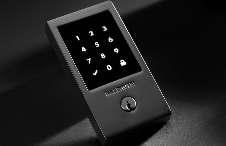Baldwin Hardware Develops Solid-Brass TouchScreen Smart Lock