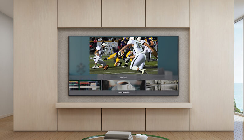Savant Integrates On-Screen Controls into Apple TV