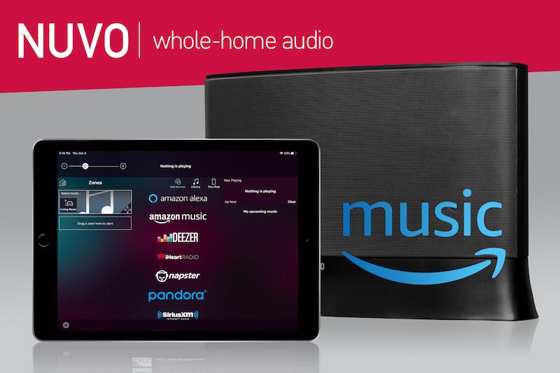 Amazon Music Added to Nuvo Player Portfolio System