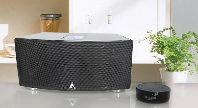 Atlantic Technology's Gatecrasher1 Wireless Multi-Room Speaker Now Works with Alexa