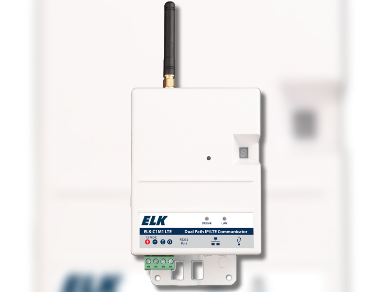 ELK Products Adds AT&T LTE Version of C1M1 Dual Path Alarm Communicator