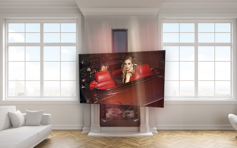Make Watching TV a Moving Experience with Automation