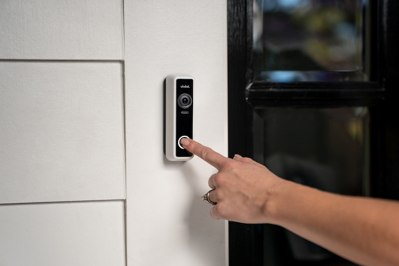 New Vivint Doorbell Camera Pro Helps Protect Packages