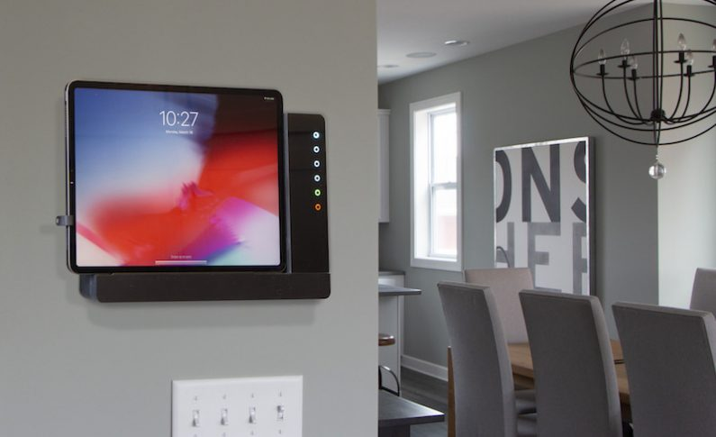 iRoom iTop is the First OnWall Docking Station for All iPad Models and Sizes