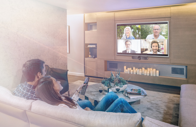 Crestron Offers Multiple Options for Home Conferencing Technology