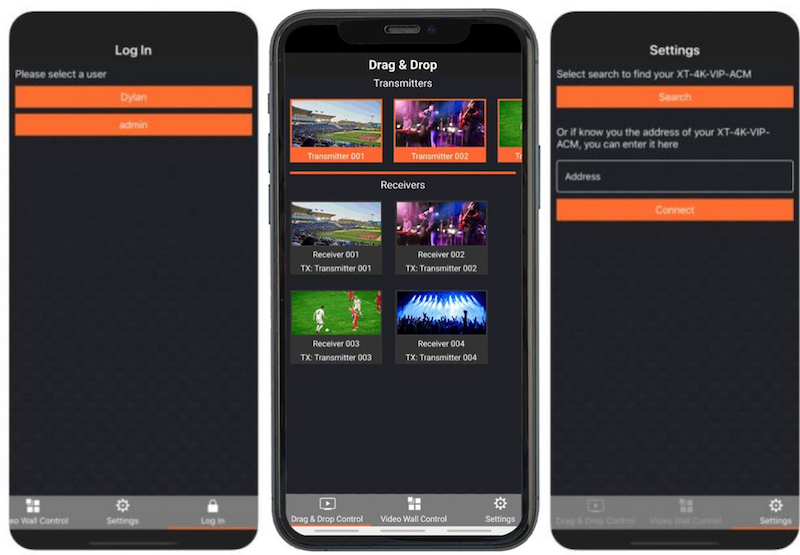 Xantech App Enables TV Source Control without Dedicated System