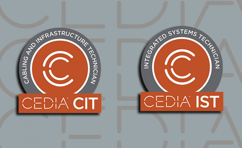 CEDIA Details Significant Certification Updates and Solidifies Learning Pathways