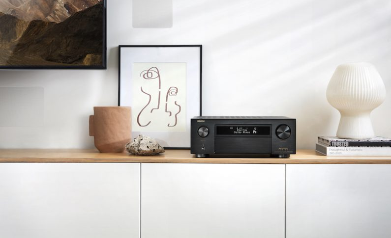 Denon Introduces First 8K-Ready AV Receivers
