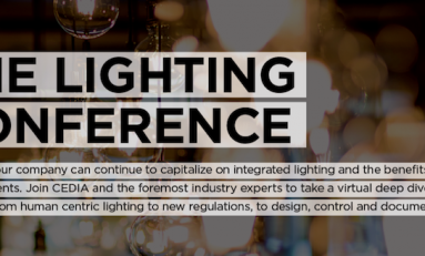 CEDIA Schedules Virtual Lighting Conference
