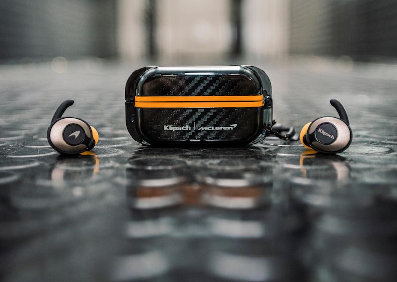 Klipsch Adds Three New Wireless Earphones, Including McLaren Formula 1 Edition