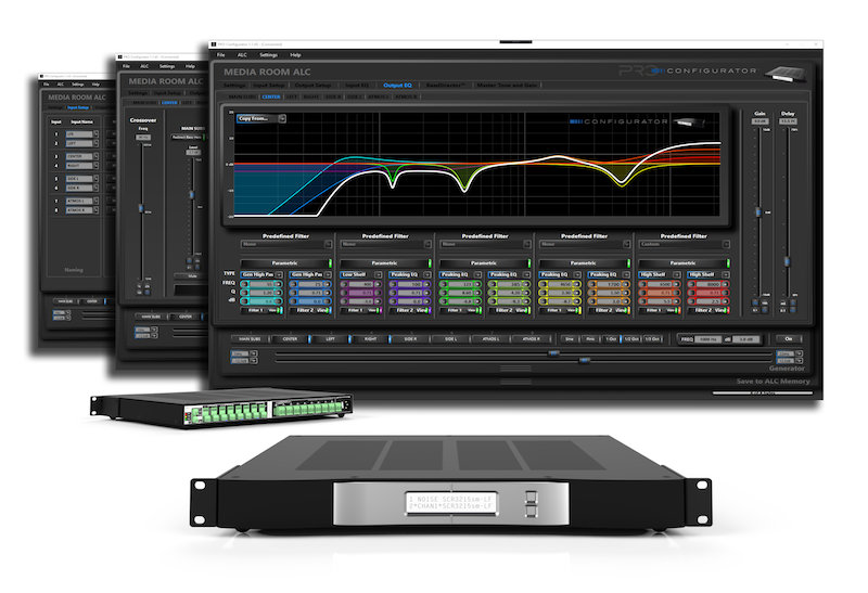 Pro Audio Technology Now Shipping ALC-3316 Amplified Loudspeaker Controller with Companion Configurator Software