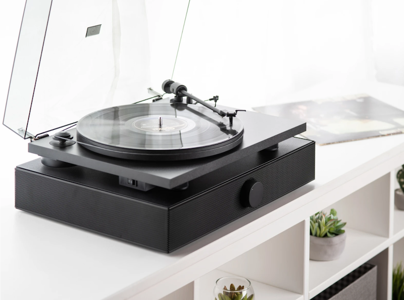 Andover Introduces Spindeck Belt-Drive Turntable