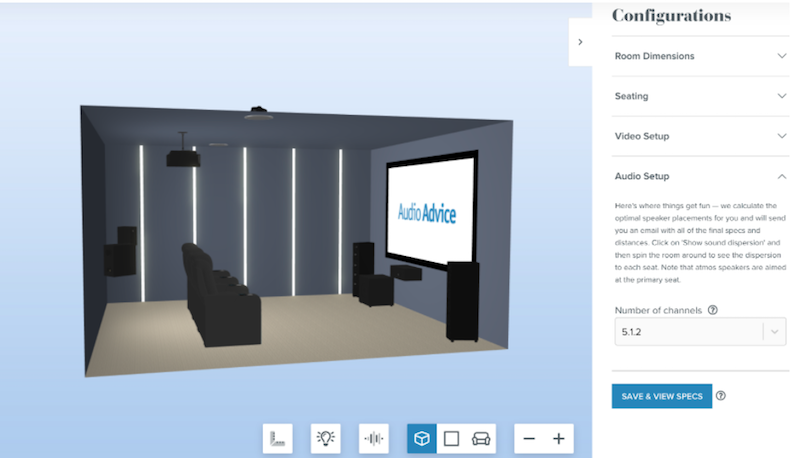 Home Theater Design Tool Can Help You Plan Your Set-up