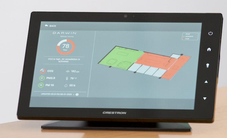 Crestron and Delos Collaborate to Deliver Healthier Home Tech