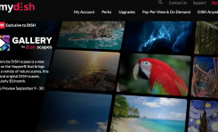 DISH Launches Gallery by DISH scapes app on Hopper platform