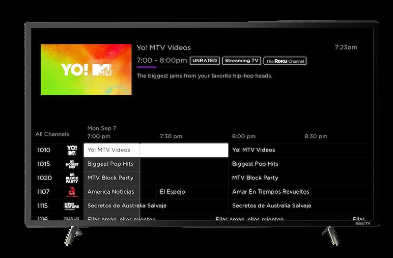 Roku Ultra Channel Guide