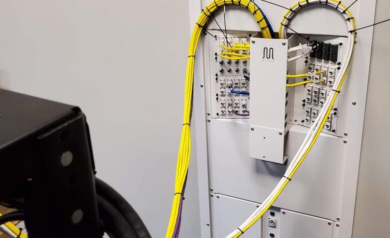 Working with RackFrame, Integrators Build and Wire a Customer's Equipment Stack in Their Own Lab, on Their Own Schedule