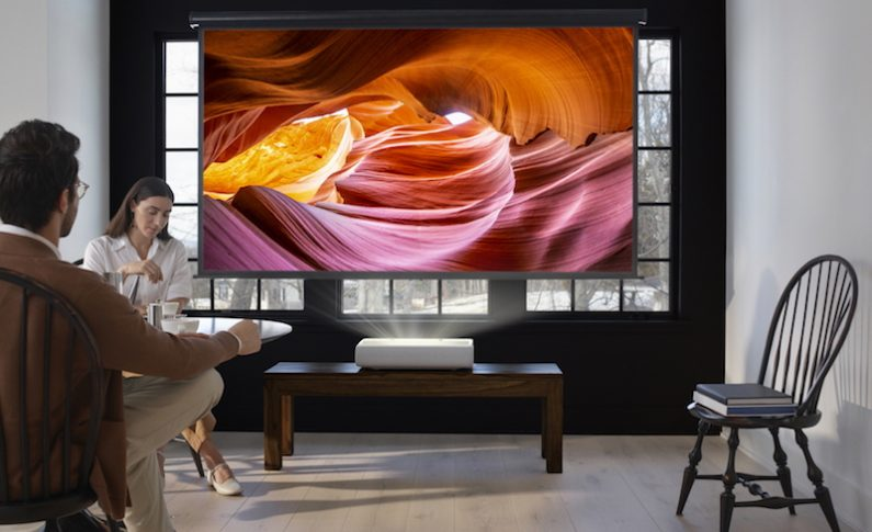 Samsung Joins the Ultra Short Throw Projector Category