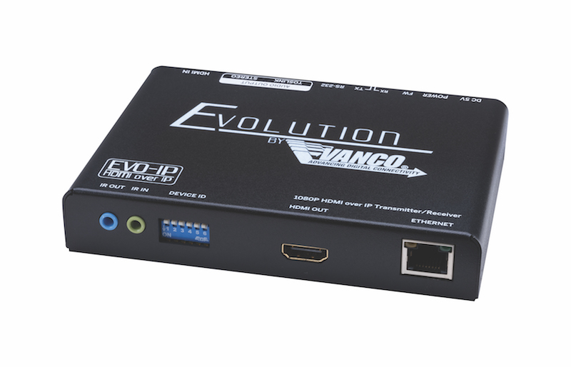 Vanco Evolution EVO-IP LITE Simplifies HDMI over IP Installations