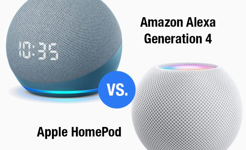 Showdown: Apple HomePod mini vs. Amazon Generation 4 Echo Dot