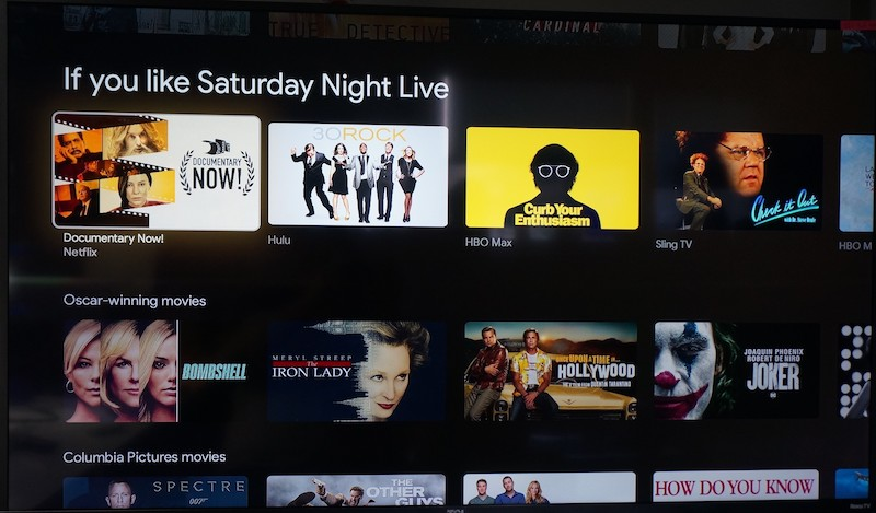 Chromecast If you like SNL copy