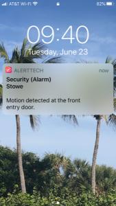 alsertTec IP Camera Alert