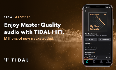 TIDAL Adds Millions of Master Quality Streaming Audio Tracks from Warner Music Group