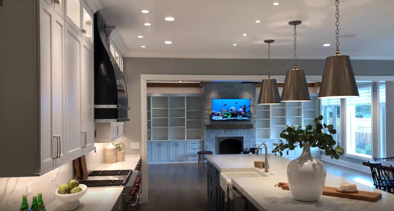 Ultra HD Over IP System Delivers Reliable AV Content Throughout Illinois Dream Home
