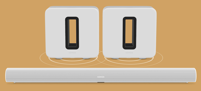 Sonos Speaker Owners Can Now Pair Dual Sonos Subs in One System