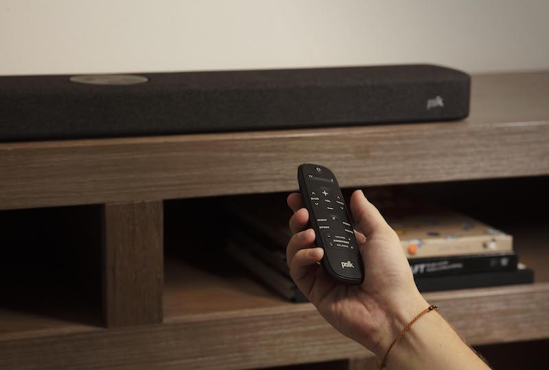 Polk React Sound Bar Delivers Dolby, DTS, and Advanced Alexa Integration