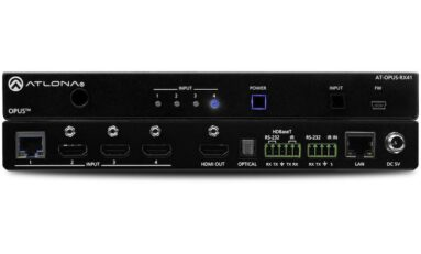 Atlona Adds 4K HDR Combination Switcher and Receiver